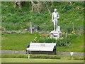 NW9954 : Burns statue, Portpatrick by Humphrey Bolton