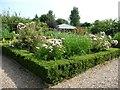 TQ8930 : Walled herb garden, Chapel Down Vineyard by Christine Johnstone