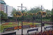 SJ8545 : A Roundabout Garden by Glyn Baker