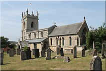 SK9324 : St John the Baptist Church, Colsterworth by J.Hannan-Briggs