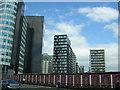 SJ8499 : Manchester: blocks of flats near Victoria Station by Christopher Hilton