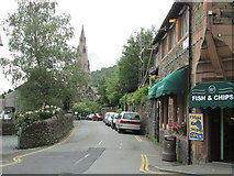 NY3704 : Vicarage Road, Ambleside by Peter S