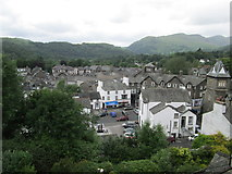 "NY3704 : Overlooking the centre of Ambleside from ""The Gale� by Peter S"