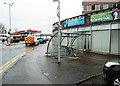 NS3321 : Cycle shelter, Ayr by Humphrey Bolton