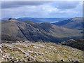 NN1455 : Ridge north of Stob Coire nan Lochan by Trevor Littlewood