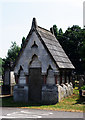 TQ2690 : Mausoleum, St Pancras and Islington Cemetery by Jim Osley