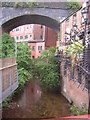 SJ8497 : Manchester: River Medlock from Charles Street by Christopher Hilton
