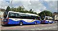 J2053 : Two Goldline coaches, Dromore (2013-2) by Albert Bridge