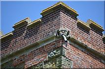 TF3579 : Gargoyle on St Michael's church, Burwell by Julian P Guffogg