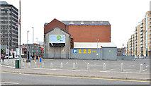 J3373 : Closed car park, Belfast (2013-3) by Albert Bridge