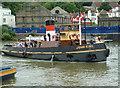 ST5772 : Motor tug John King by Chris Allen