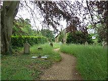 SU1012 : St James, Alderholt: churchyard (9) by Basher Eyre