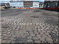 TF6120 : Cobbled street discovered under King's Lynn Market Place by Richard Humphrey
