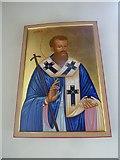 SU1012 : St James, Alderholt: icon by Basher Eyre