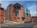 SJ4166 : Forest Court, Union Street, Chester by Bill Harrison