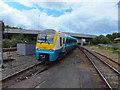 SH7977 : Arriva train arriving at Llandudno Junction by Richard Hoare