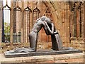 SP3379 : Reconciliation, Coventry Old Cathedral by David Dixon