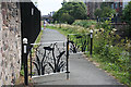 NT2472 : Towpath Gates by Anne Burgess
