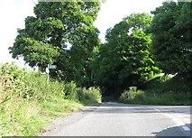 SK2652 : Road junction by Alex McGregor