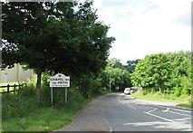 SK0780 : Entrance to Chapel-en-le-Frith by Alex McGregor