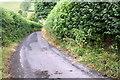 SD6188 : Minor road approaching Killington Bridge by Roger Templeman