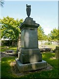 NS2776 : Memorial to Angus McBean by Lairich Rig