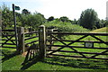 SP7920 : Footpath round Whitchurch by Philip Jeffrey