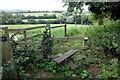 SP7821 : Footpath to Marston by Philip Jeffrey
