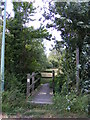 TM3281 : Footpath off St.James Road by Adrian Cable