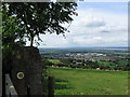 SO8005 : Severn and Stonehouse from the Cotswold Way-Glos by Martin Richard Phelan
