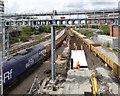 SK5739 : Nottingham Station resignalling by Alan Murray-Rust