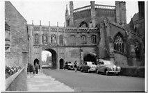 ST5545 : Cathedral Green, Wells, Somerset 1955 by Derek Voller