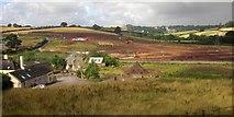 SX8769 : New road under construction, Aller by Derek Harper