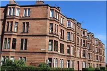 NS5564 : Corner of Rhynie Drive & Copland Road, Glasgow by Leslie Barrie