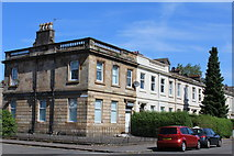 NS5564 : Corner of Brighton Place & Copland Road, Glasgow by Leslie Barrie