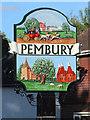 TQ6240 : Pembury village sign by Oast House Archive