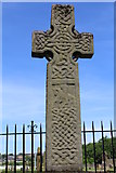 NS5565 : Early Christian Cross, Govan by Leslie Barrie