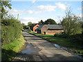SP0868 : Dwellings, Wapping Lane by Robin Stott