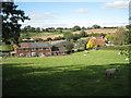 SP0869 : Green Hills Farm, Pink Green by Robin Stott