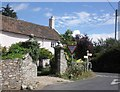 ST2118 : Wayside Cottage, Blagdon Hill by Roger Cornfoot