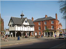 SP7387 : Market Harborough: The Old Grammar School by Nigel Cox