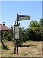 TG2700 : Roadsign on Howe Lane by Geographer