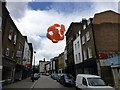 TQ3179 : The Umbrellas of Lower Marsh. London by PAUL FARMER