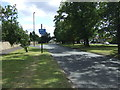 NZ2470 : Cycle path beside the Great North Road by JThomas