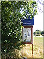 TM2793 : Topcroft Lakes sign by Adrian Cable