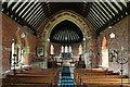 TF1776 : Interior, St Stephen's church, Hatton by J.Hannan-Briggs