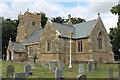 TF1681 : St Mary's church, East Barkwith by J.Hannan-Briggs
