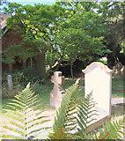 SP5206 : Holywell Cemetery, Oxford by David Hallam-Jones