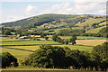 SO4421 : Farmland in the Monnow valley by Philip Halling