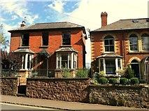 SO6024 : Victorian villas, Ross-on-Wye by Jonathan Billinger